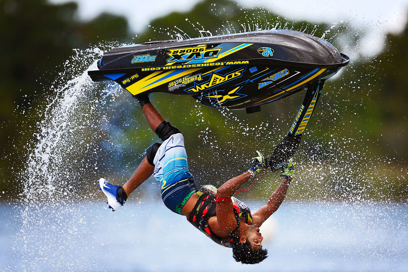 Watercross Backflip