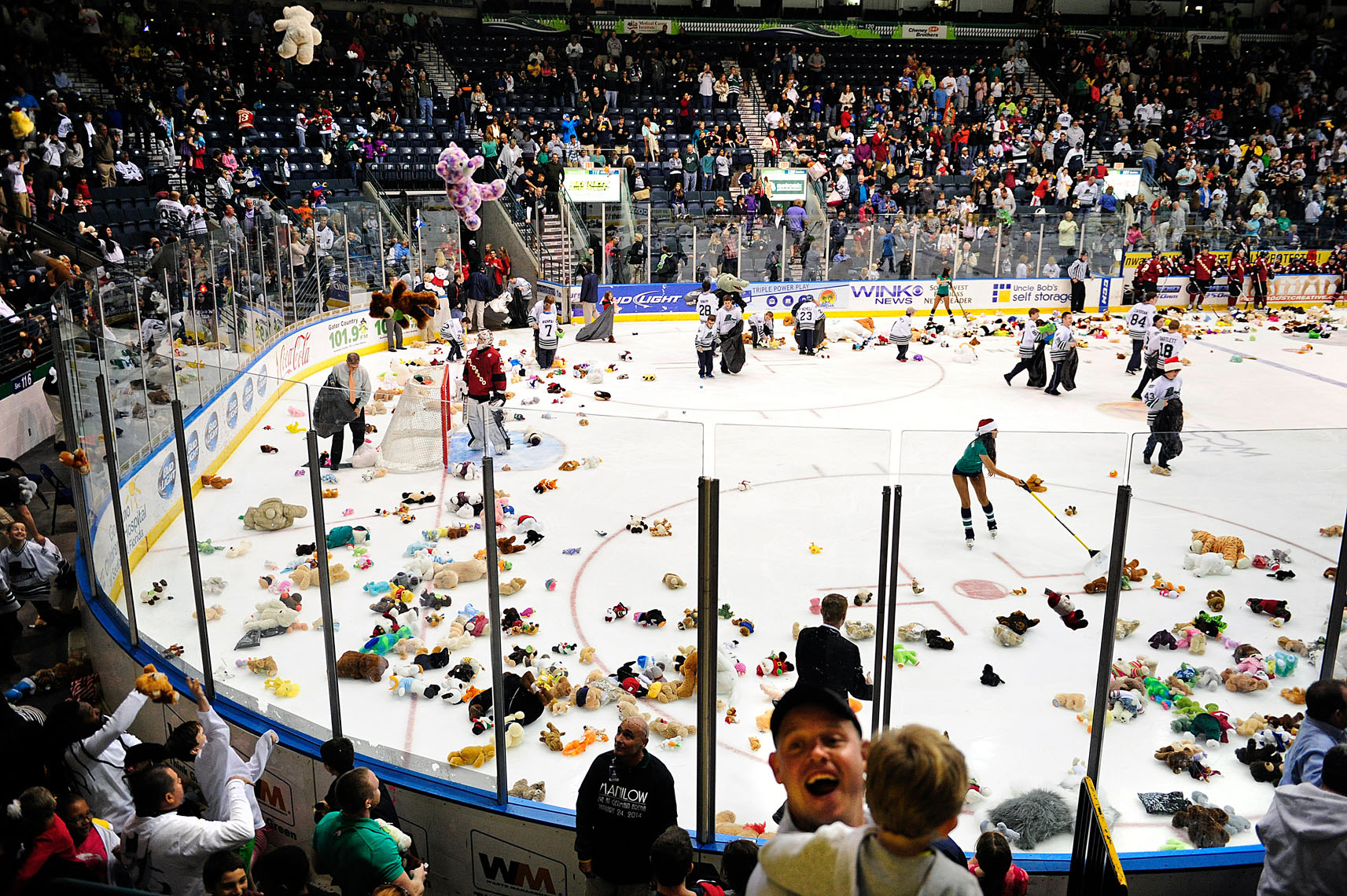 Teddy Bear Toss